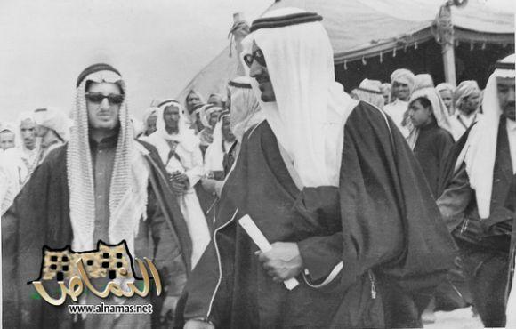 زيارة الامير خالد الفيصل  للنماص عام 1390هـ/منتديات النماص
