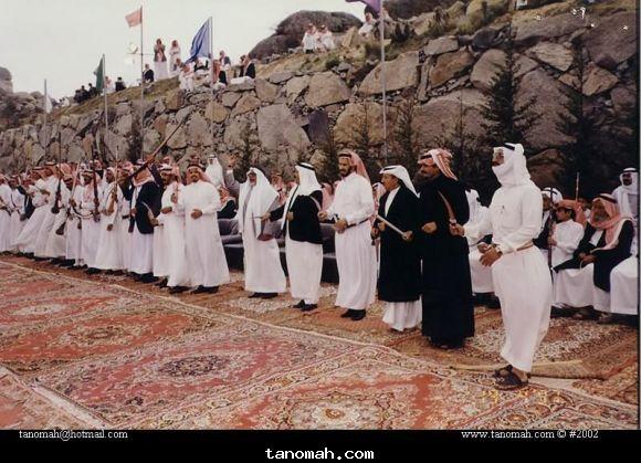 احدى المناسبات في النماص عام 1422