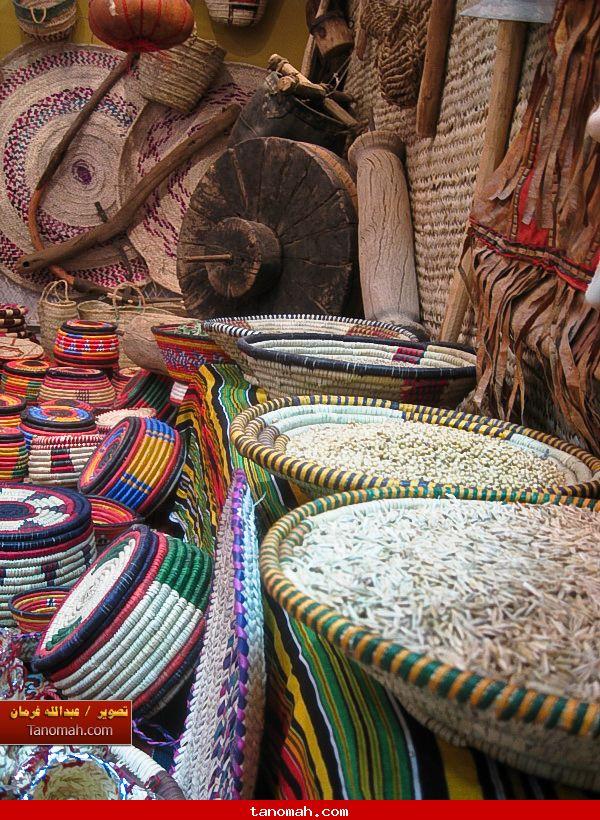 الجنادرية 1430 - مناسف  تحوي انواع من الحبوب
