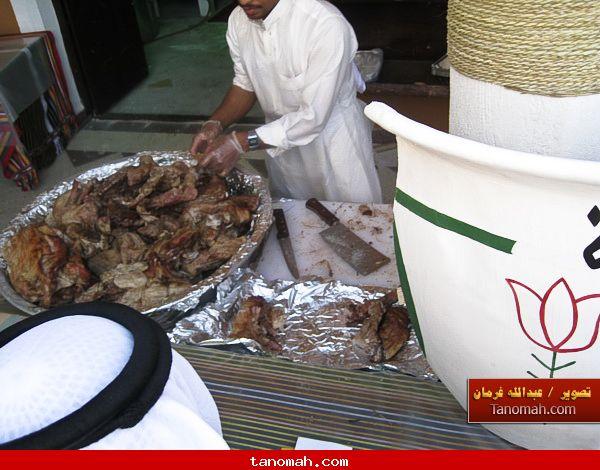الجنادرية 1430 - اللحم الحنيذ اللذي تشتهر به منطقة عسير خاصة تهامة