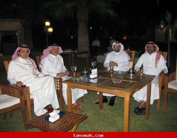 تكريم قناة المجد ومدير موقع تنومة / جانب من الحضور