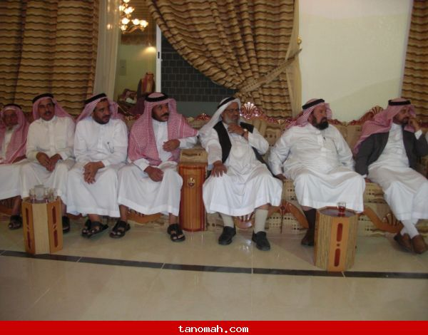 اللقاء المفتوح للمجلس البلدي بتنومة مع المواطنين في اثنينية تنومة