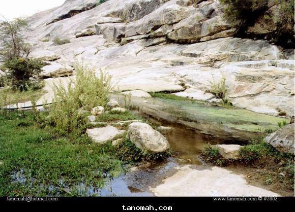 تسمى الكظايم وتستخدم لري المزارع في جبل منعاء قرية ال سيارة صورة التقطت عام 1422