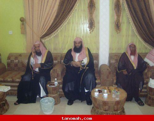 تكريم قاضي محكمة المجاردة الشيخ خالد الجاسر