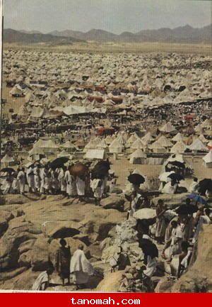 الحج -صعيد عرفات من على جبل الرحمه