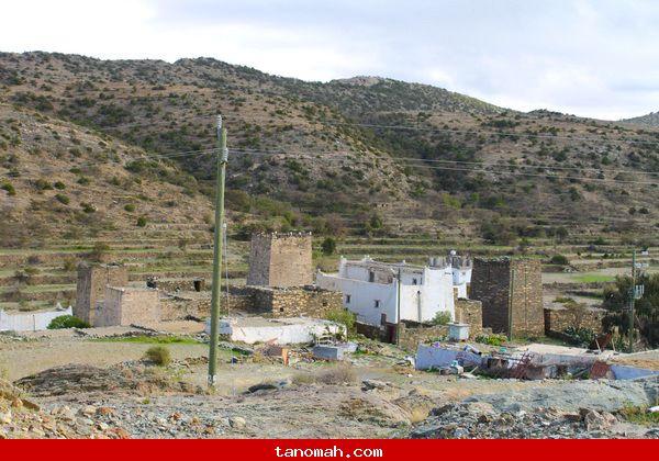 احدى القرى التنومية