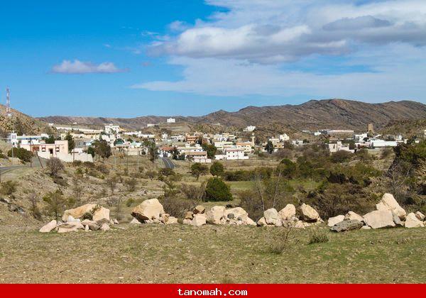 منظر لقرية الحصون