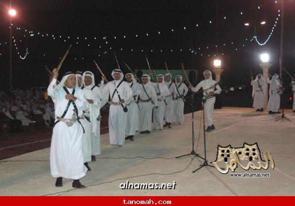 مشاركة فرقة رجال الحجر بمهرجان محايل السياحي الشتوي - تصوير صقر الظهارة 4