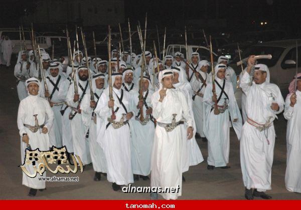مشاركة فرقة رجال الحجر بمهرجان محايل السياحي الشتوي - تصوير صقر الظهارة 8