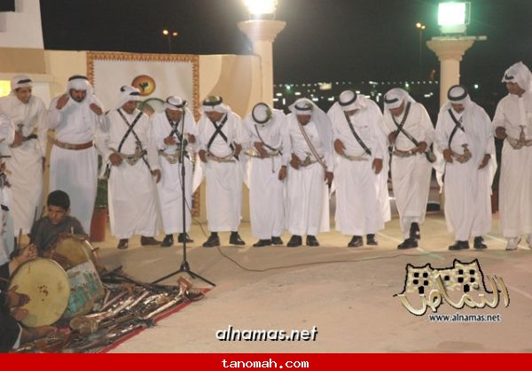 مشاركة فرقة رجال الحجر بمهرجان محايل السياحي الشتوي - تصوير صقر الظهارة 12
