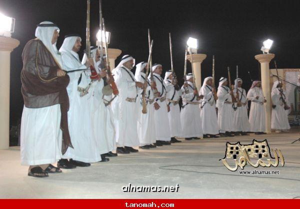 مشاركة فرقة رجال الحجر بمهرجان محايل السياحي الشتوي - تصوير صقر الظهارة 14