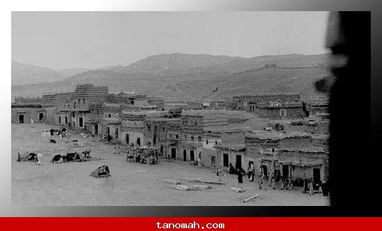 أبها - سوق الثلاثاء عام 1336 هـ  1918 م