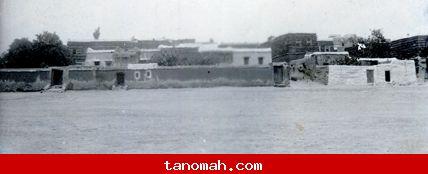 أبها - ساحة البحار عام 1336 هـ  1918 م