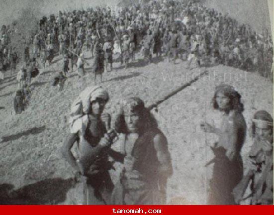 صورة عمرها أكثر من 100 عام لرجال تهامة قحطان ( الفرشة )