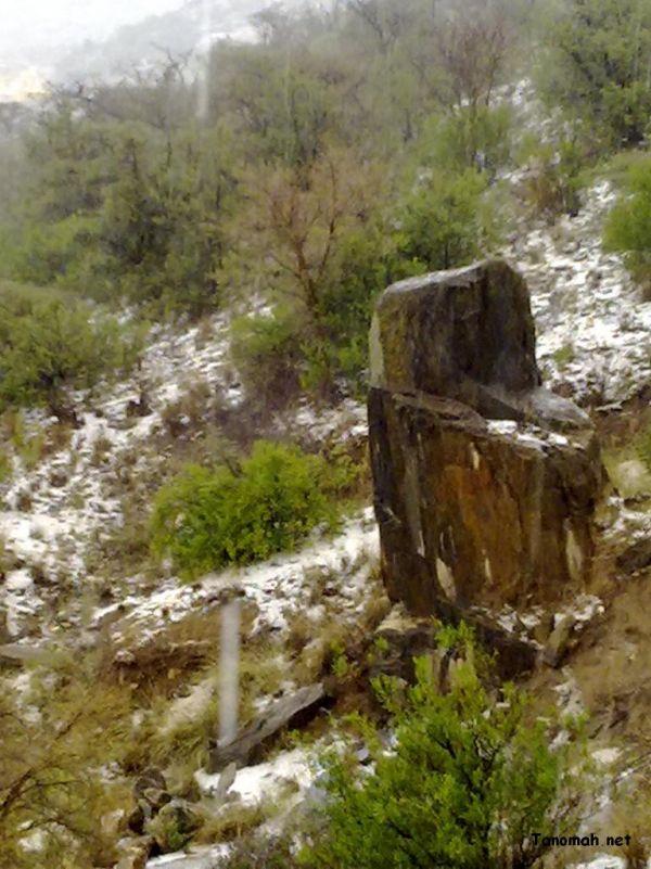 أمطار وثلوج تنومة الاثنين21-4-1431هـ تصوير البهيشي