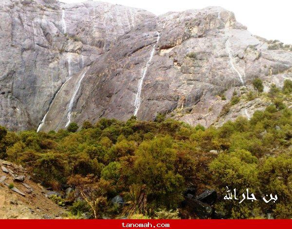 صور امطار وبرد تنومة الأثنين 20/4/1431 (تصوير بن حارالله)