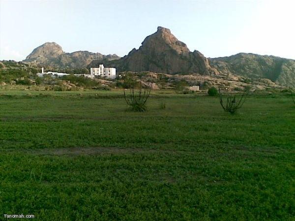 منظر من قرية شعف آل سودة (عبدالله مرعي)