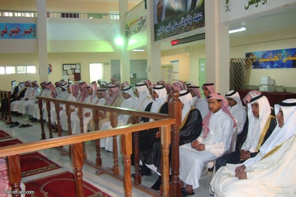 حفل توديع الطلاب الخريجين بثانوية الملك فهد