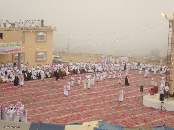 حفل استقبال آل بهيش لقبائل آل الحسين في شعف آل سودة