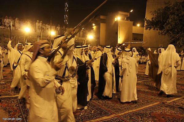 احتفال منتديات النماص في قصر التراث