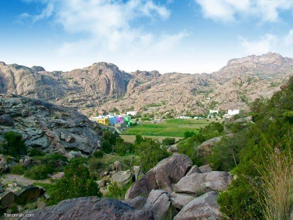 قرى جبل منعاء