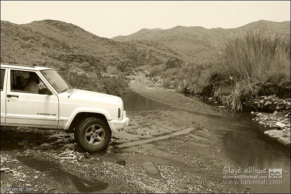 المياه الجارية بإستمرار  في وادي عيا