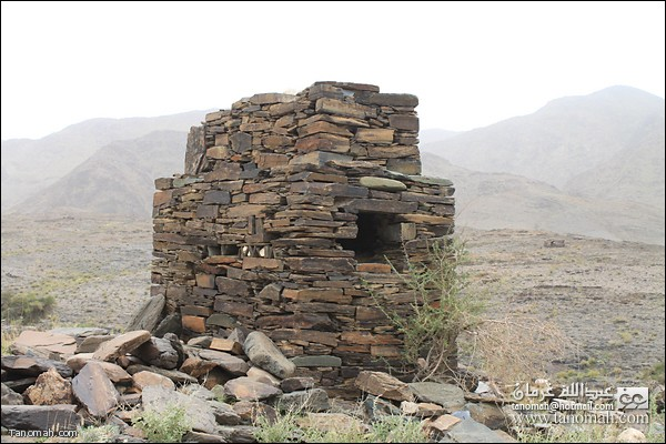 احدى المقابر الجماعية في وادي عيا