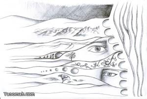 الأمل ... للفنان عبدالله بن عبدالرحمن الكلثمي (مشاركة من عطر النماص)