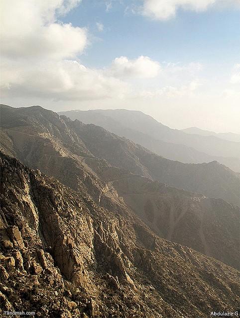 جبال النماص (عدسة عبدالعزيز)