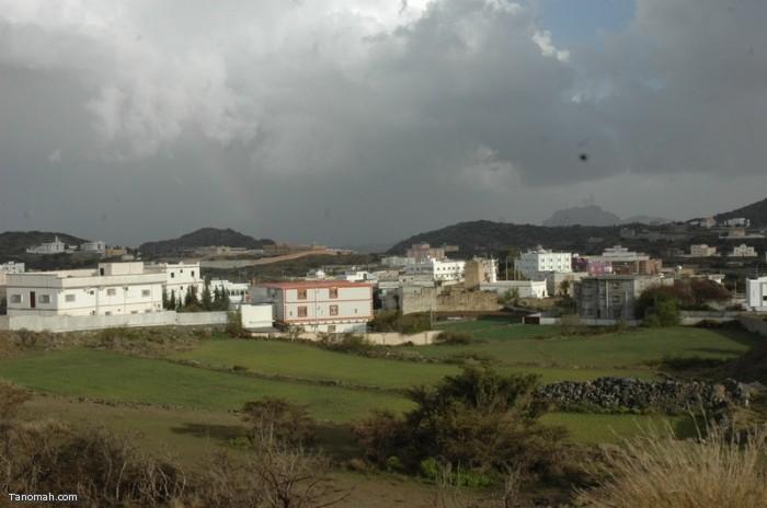 أمطار الظهارة (تصوير محمد عامر)
