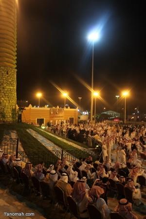صور ليلة حفل قرية عسير وجناح تنومة في الجنادرية بحضور امير عسير4