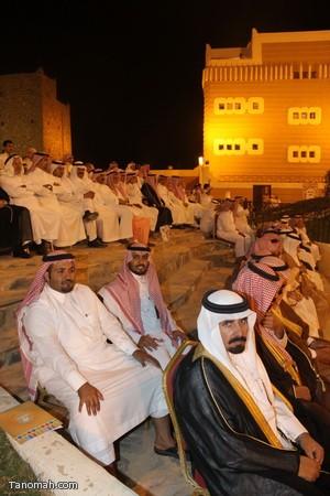 صور ليلة حفل قرية عسير وجناح تنومة في الجنادرية بحضور امير عسير15
