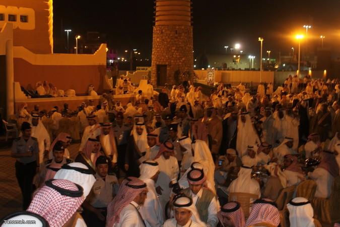 صور ليلة حفل قرية عسير وجناح تنومة في الجنادرية بحضور امير عسير32