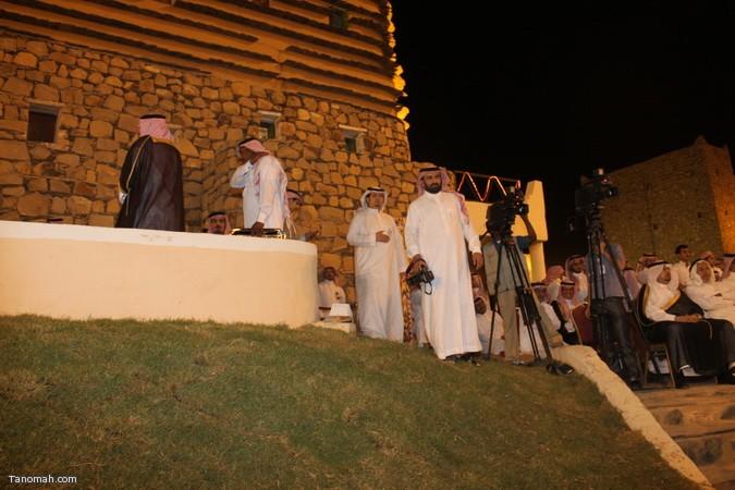 صور ليلة حفل قرية عسير وجناح تنومة في الجنادرية بحضور امير عسير46