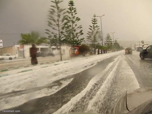 صور أمطار تنومة لهذا اليوم الاثنين الموافق 28/5/1432هـ تصوير الأستاذ : فايز حسين جدعان