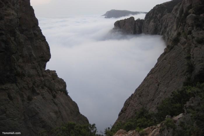 جبل مرير بمحافظة النماص (عدسة فراج القشيري مشاركة من فهد الشهري)