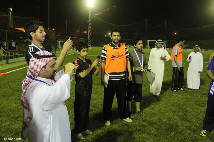 ختام بطولة علي بن سليمان الشهري الرياضية (عبدالله غرمان)