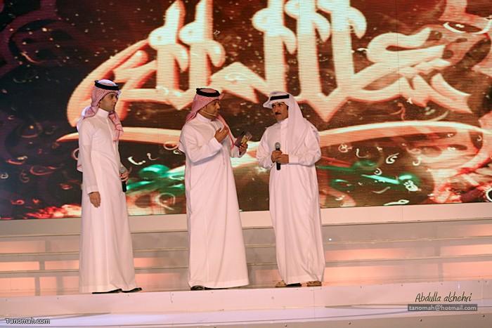 الحلقة الرابعة من شاعر الملك -المشرف على قناة المرقاب الشاعر حبيب العازمي و  الفنان عباس ابراهيم