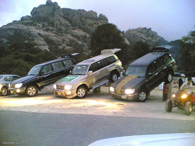 ترفيع السيارات (مشاركة من وهج الشهري)