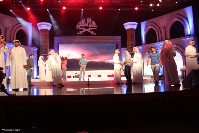 الحلقة السادسة - الجولة الأولى من مسابقة شاعر الملك - المسرح قبل بدء البث