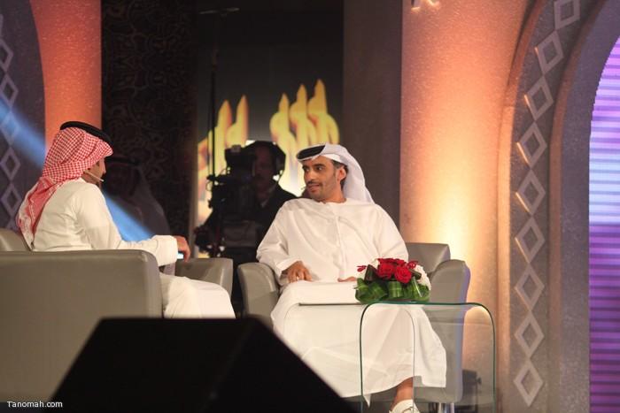 الحلقة السادسة - مذيع قناة المرقاب يحاور  ضيف الحلقة الشاعر الإماراتي سعيد بن دري الفلاحي