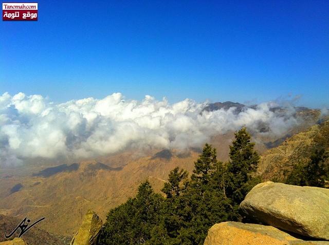 صور من شفا النماص - تشكيلات السحب  (عدسة علي الشهري)