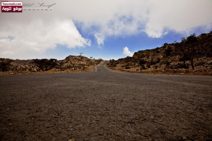 منظر من ضواحي تنومة  - خالد يوسف