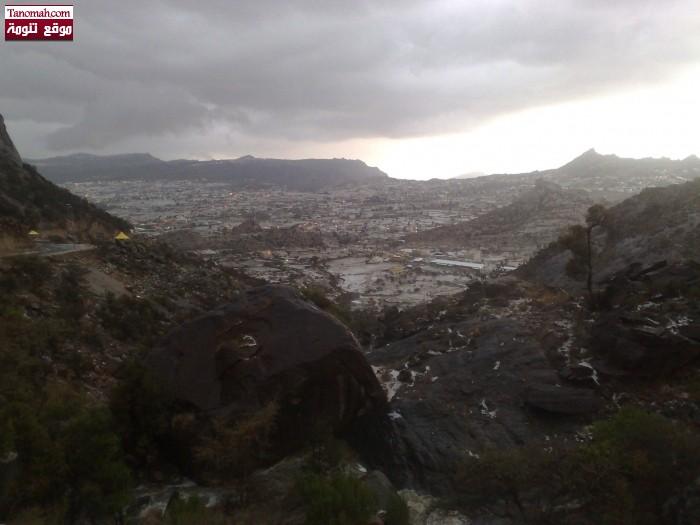 صور أمطار الخميس 15-5-1433هـ - عدسة محمد بن حصان