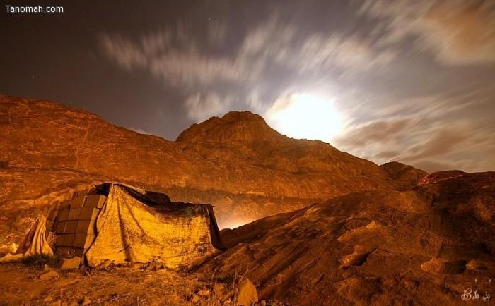 صور ليلية من تنومة - عدسة العمدة