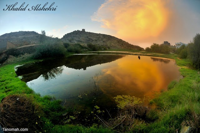 منظر رائع من فرعة قريش - عدسة خالد عبدالرحمن