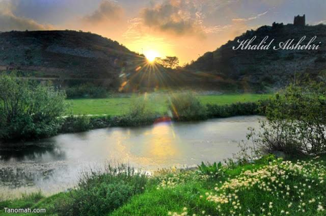 منظر من فرعة قريش - عدسة خالد عبدالرحمن