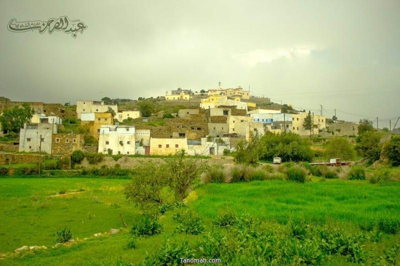 إحدى قرى بللسمر  - عدسة عبدالرحمن خلوفة