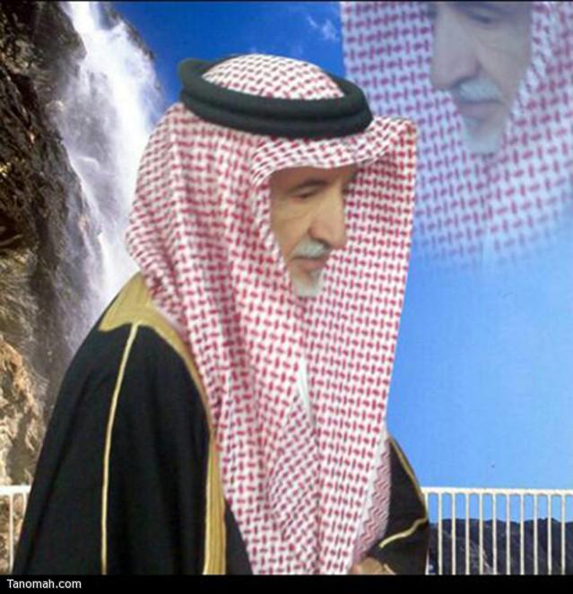الشيخ علي بن قاسم ال عثمان الشهري نائب قرية القذال رحمه الله عليه