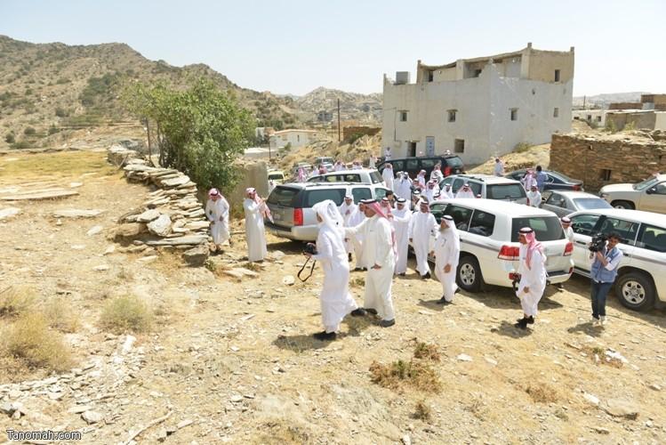 زيارة سمو الأمير سلطان بن سلمان رئيس هيئة السياحة والأثار لمحافظة تنومة 5